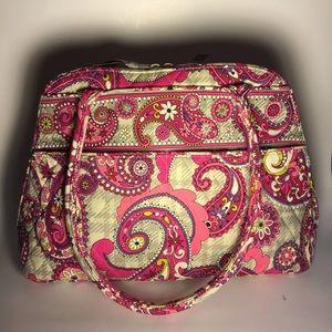 Vera Bradley Quilted Handbag - Like New